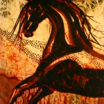 Horse through Web of Fire
