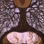 Horse Sleeping Below Tree of Rebirth