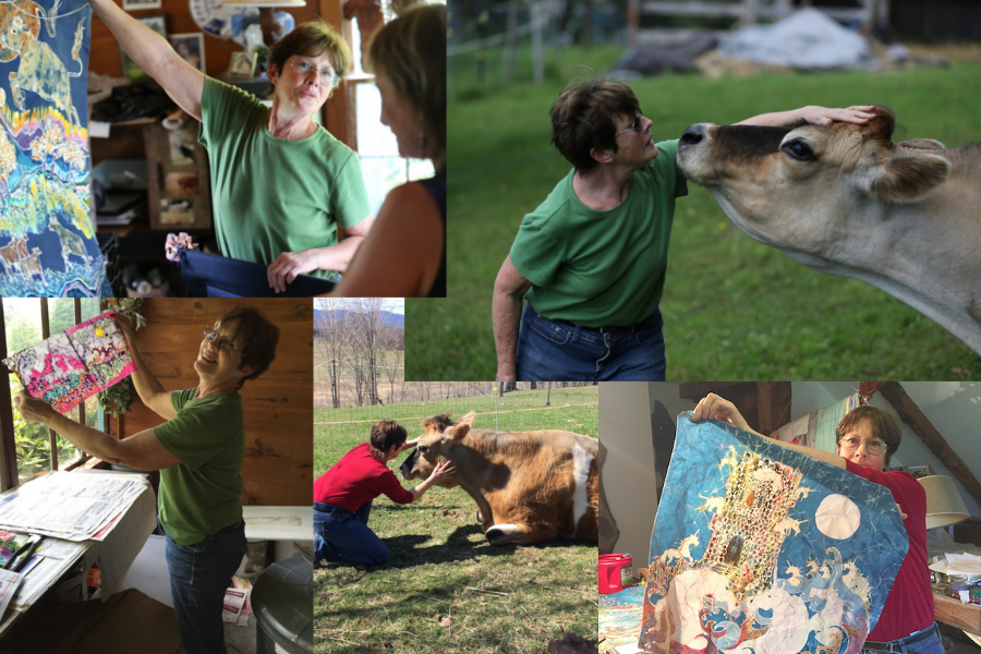Bedlam farm photo collage