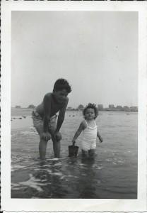 Dick & Joan at beach