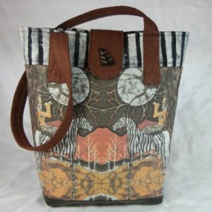 By Jeanne's Bags, Pan Calls the Moon from the Zebra's Back