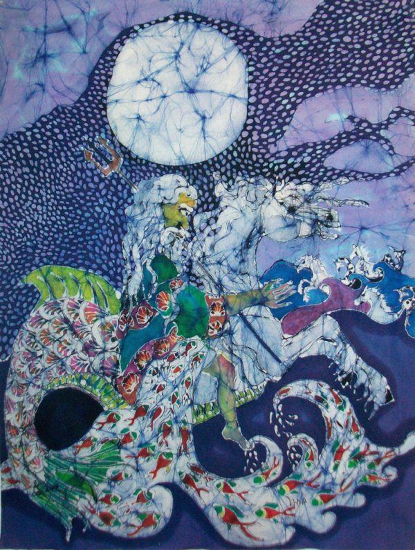 Neptune Rides the Sea