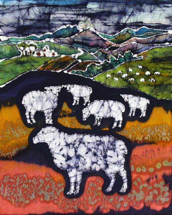 Sheep at Midnight